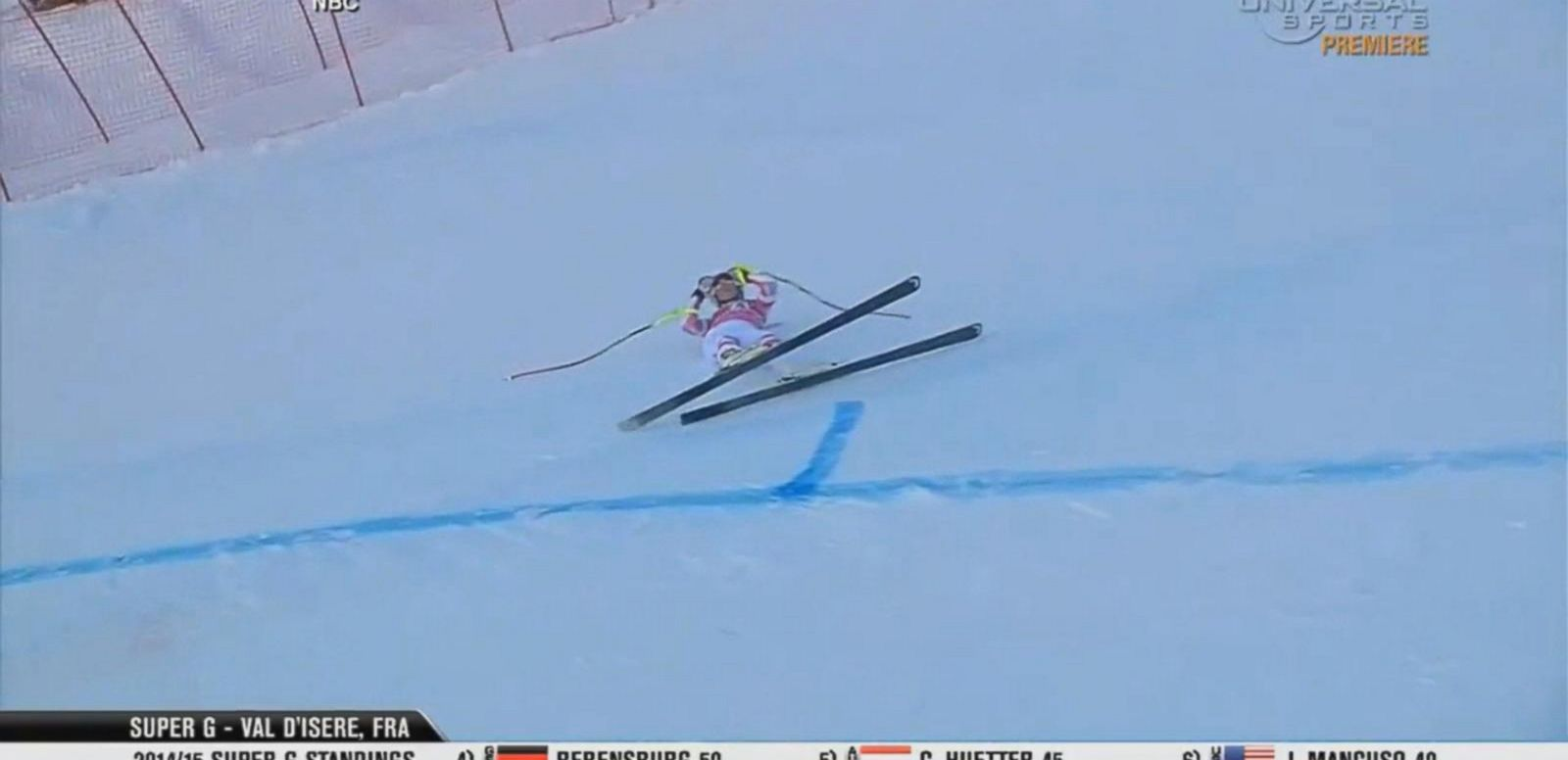 VIDEO: Lindsey Vonn Involved in Skiing Accident