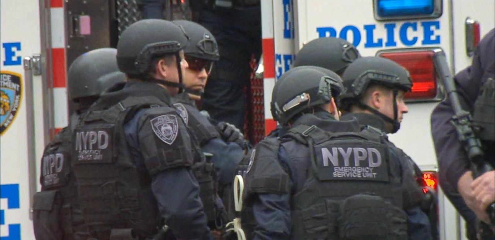VIDEO: Police Departments Ramp Up Security After NYPD Shooting