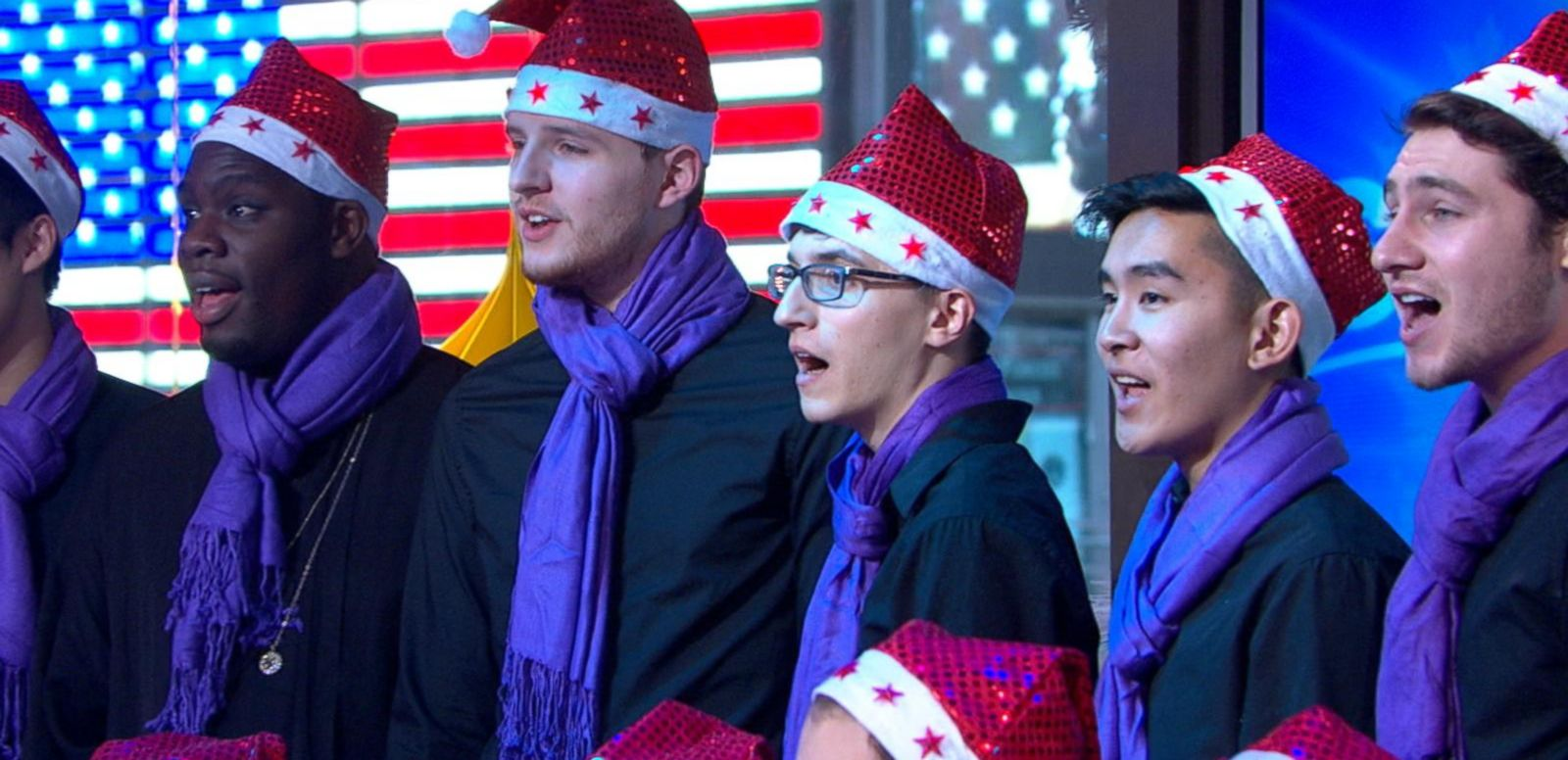 VIDEO: NYU's Glee Club Is Home for the Holidays