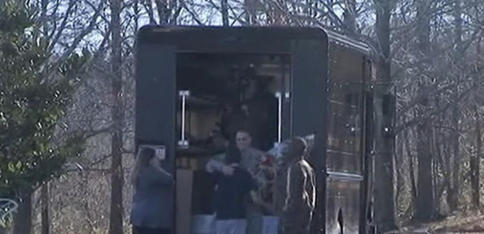 VIDEO: UPS Surprises Family with Returning Soldier