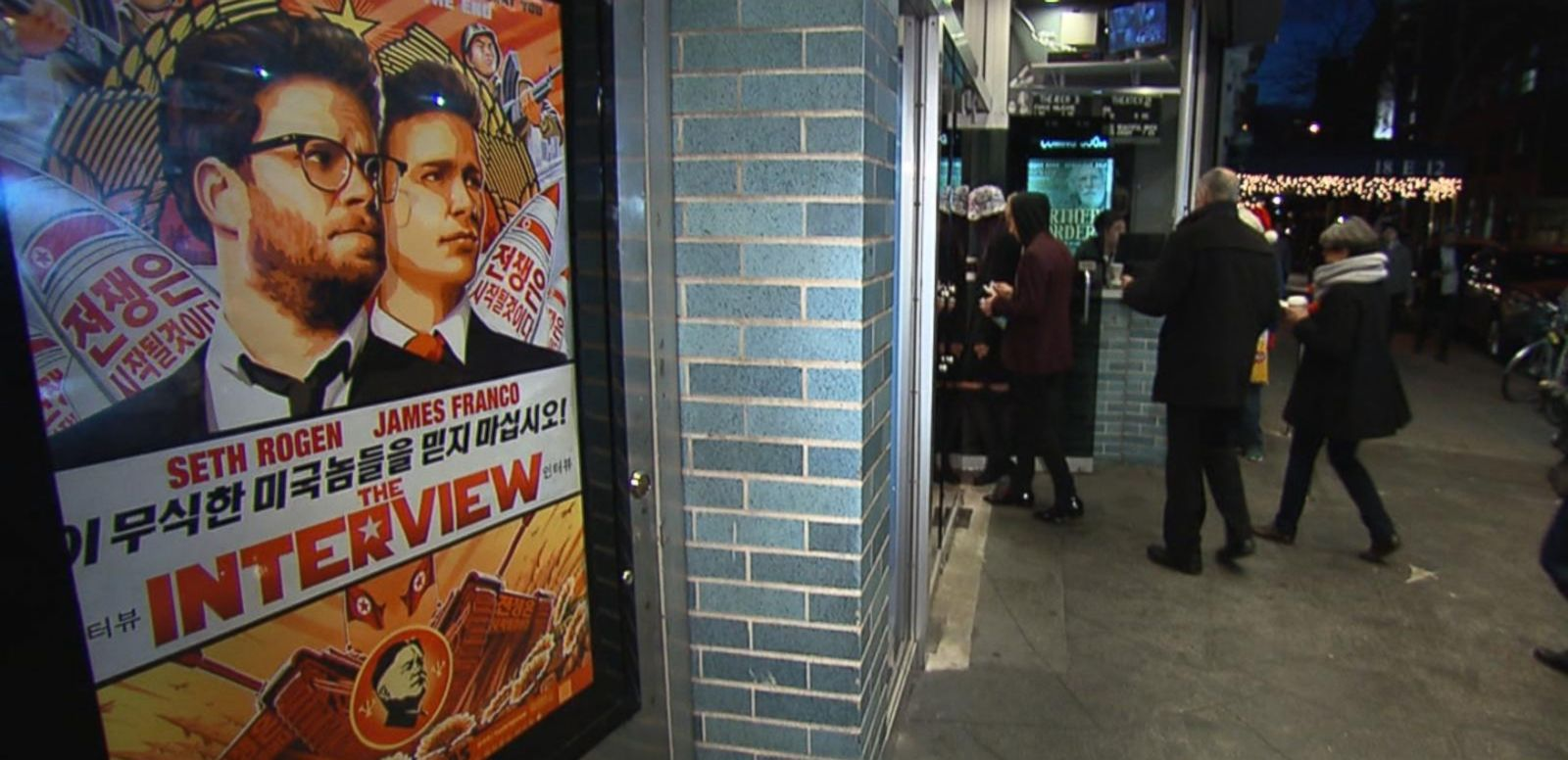 VIDEO: Moviegoers Send a Message With 'The Interview'
