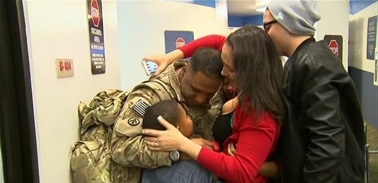 VIDEO: Loved Ones Home Just in Time for the Holidays