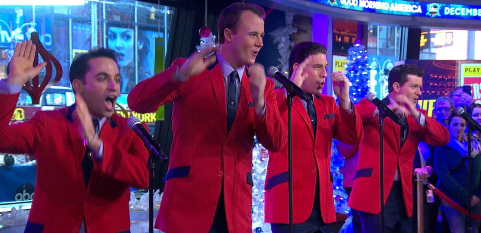 VIDEO: Tony and Grammy Awards-Winning 'Jersey Boys' Live on 'GMA'