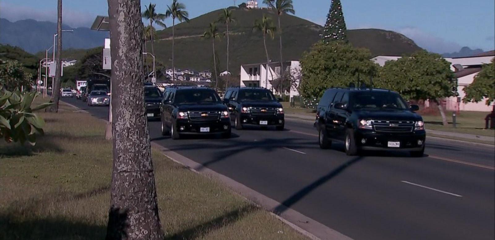 VIDEO: Untrained Volunteers Allegedly Used in Presidential Motorcade