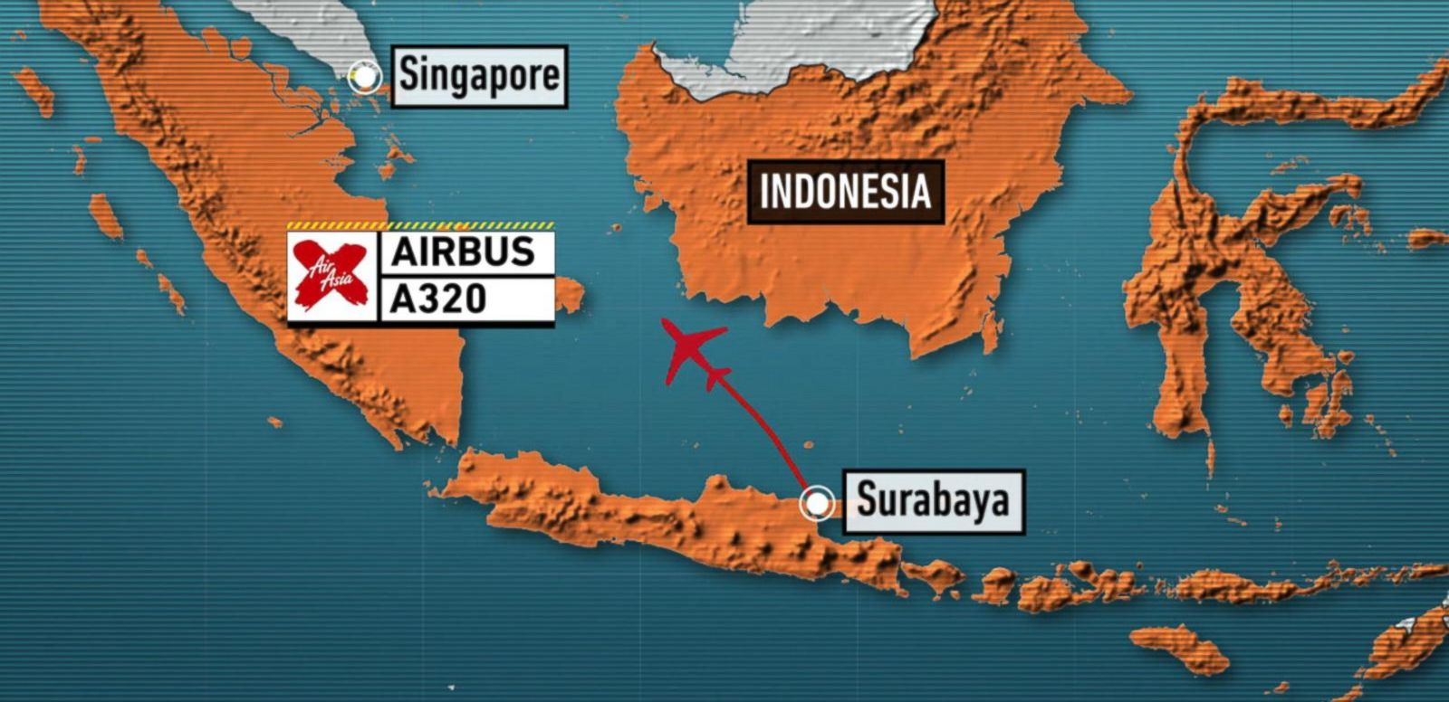 VIDEO: AirAsia Flight QZ8501 Missing Near Southeast Asia