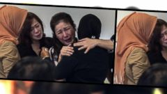 VIDEO: Families Anxiously Await Information about Missing Air Asia Flight
