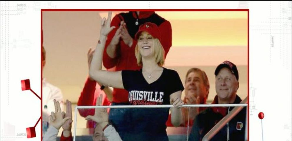 VIDEO: Jennifer Lawrence Cheers on Her Hometown Team