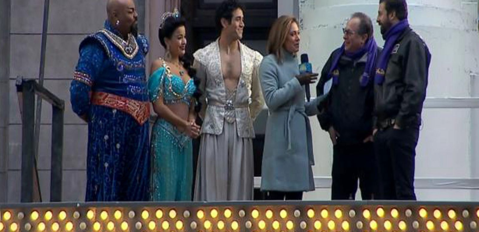 VIDEO: Broadway's 'Aladdin' to Star in Times Square New Year's Eve Party