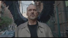 VIDEO: The comedy, which stars Michael Keaton as a washed-up actor staging a comeback, received nine Oscar nominations.