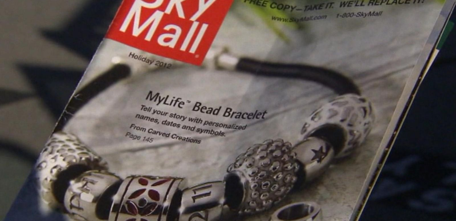 VIDEO: SkyMall's Craziest Products May Disappear After Company's Bankruptcy