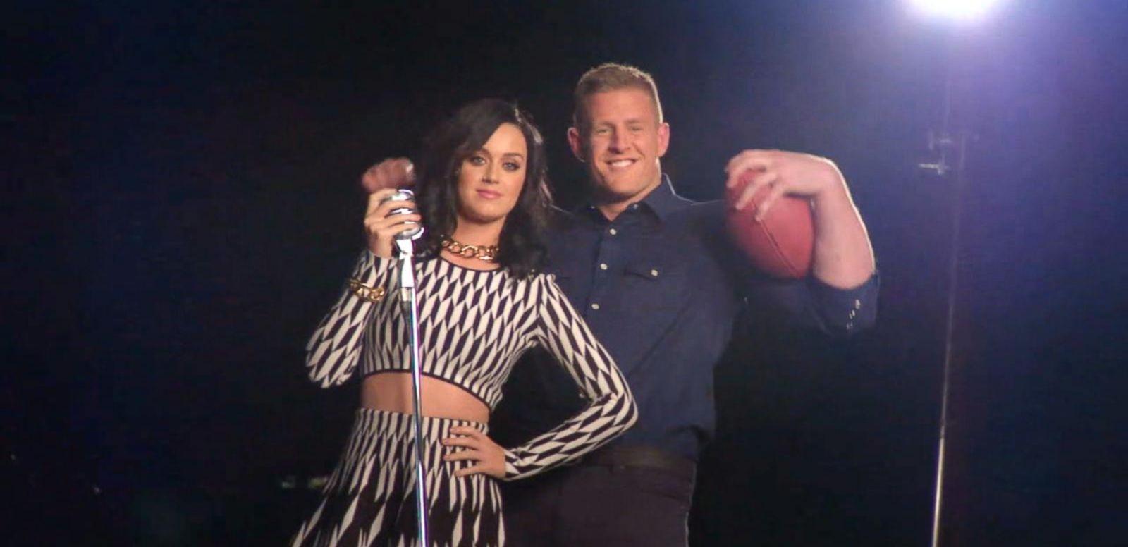 VIDEO: Katy Perry Drops Super Bowl Halftime Show Hints