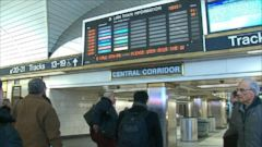 VIDEO: Blizzard Has East Coast Airports at Standstill