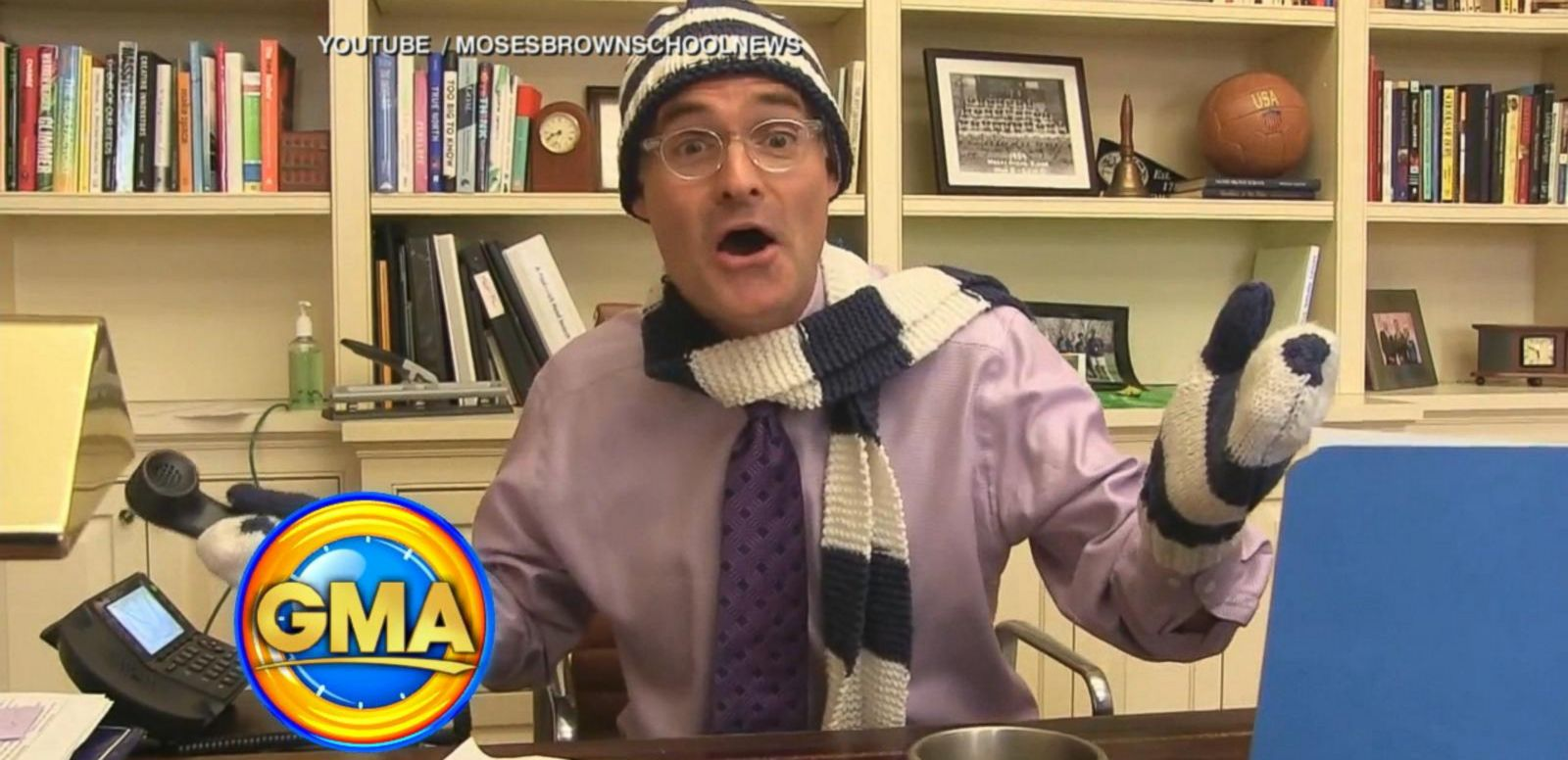 VIDEO: School's Viral Snow Day Announcement