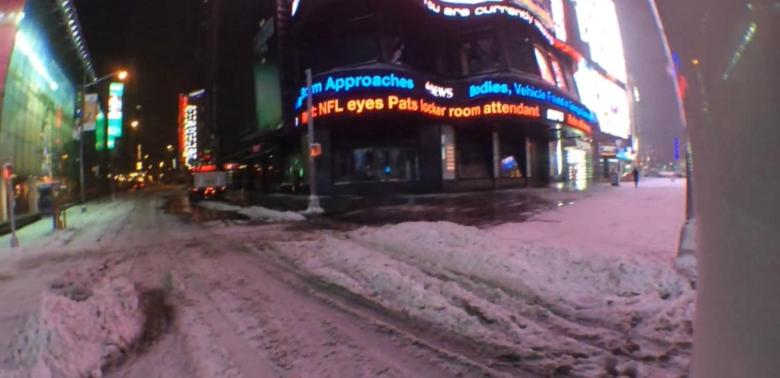 VIDEO: 2015 Blizzard Shuts Down Major Cities in Northeast