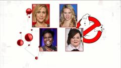 VIDEO: Cast of All-Female Ghostbusters Movie Announced