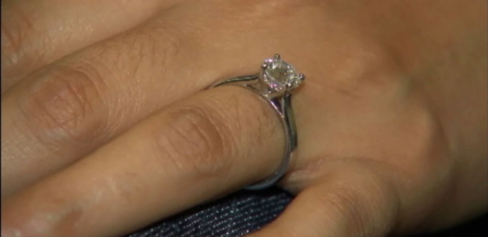 VIDEO: Miriam Castellanos lost her engagement ring at a California gas station.