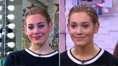 VIDEO: GMA Make-Under: Makeup Tips to Get a Natural Look