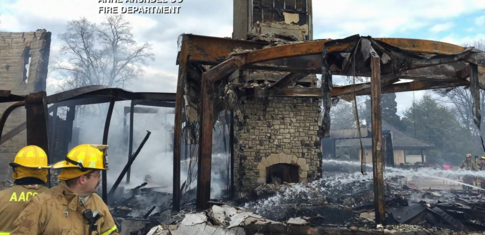 VIDEO: Faulty Outlet, Christmas Tree Blamed for Deadly Mansion Fire