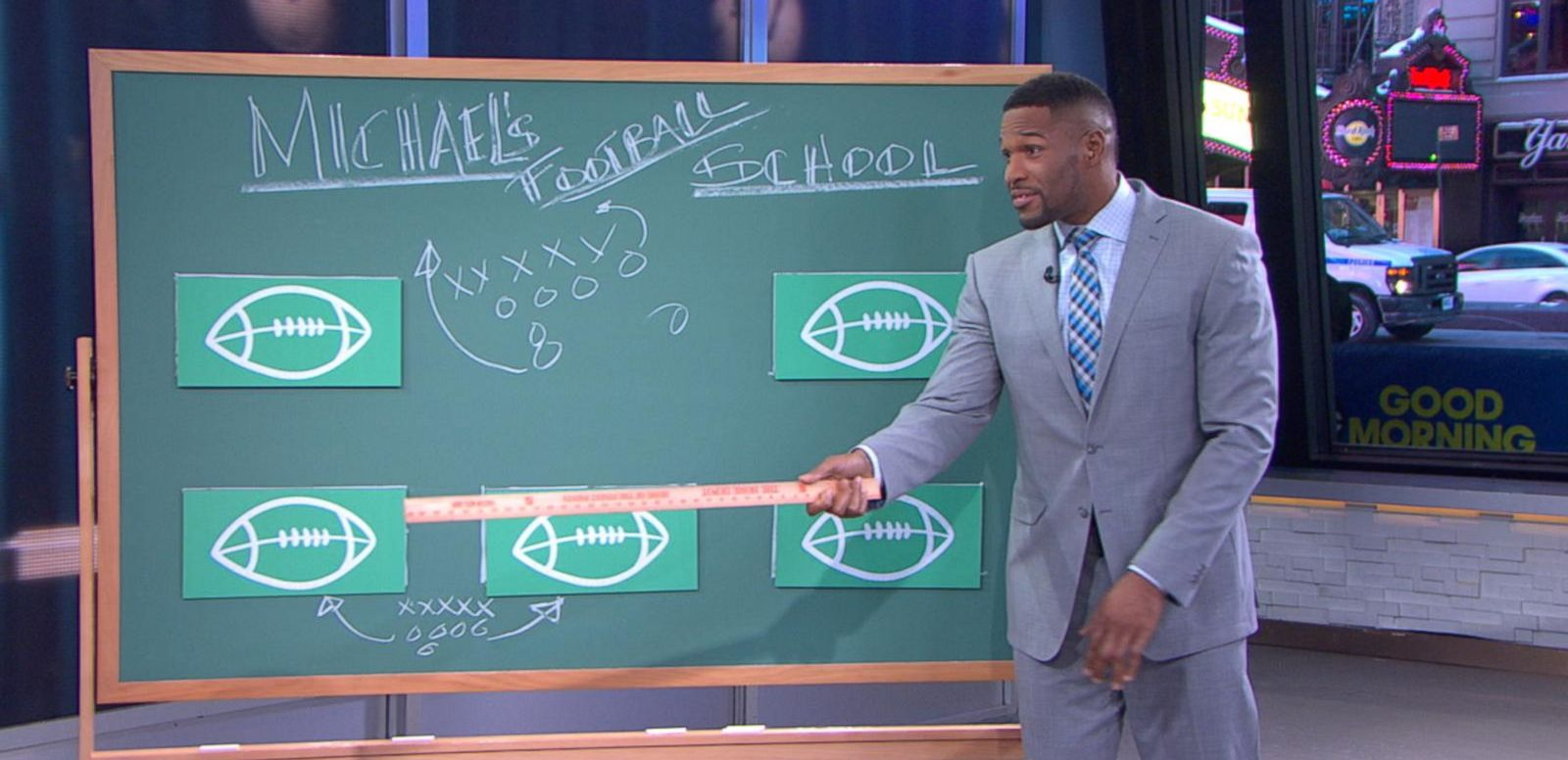 VIDEO: Football 101: Michael Strahan's Guide to Super Bowl Sunday