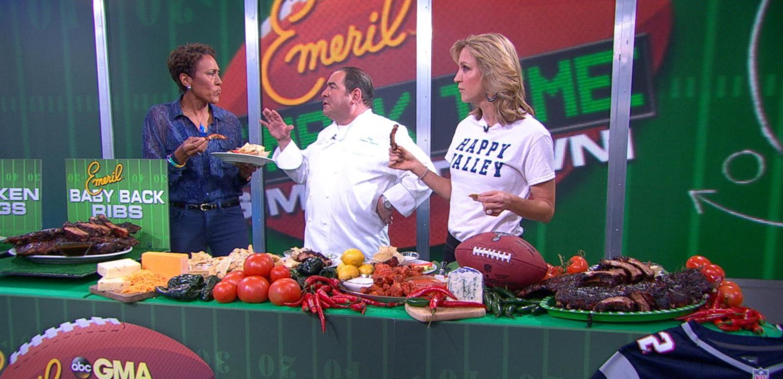 VIDEO: Emeril Kicks Up Super Bowl Snacks
