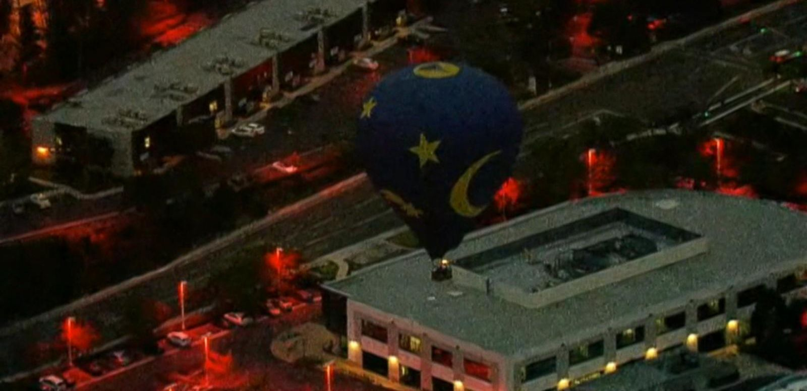 VIDEO: Hot Air Balloon Wedding Makes Emergency Landing