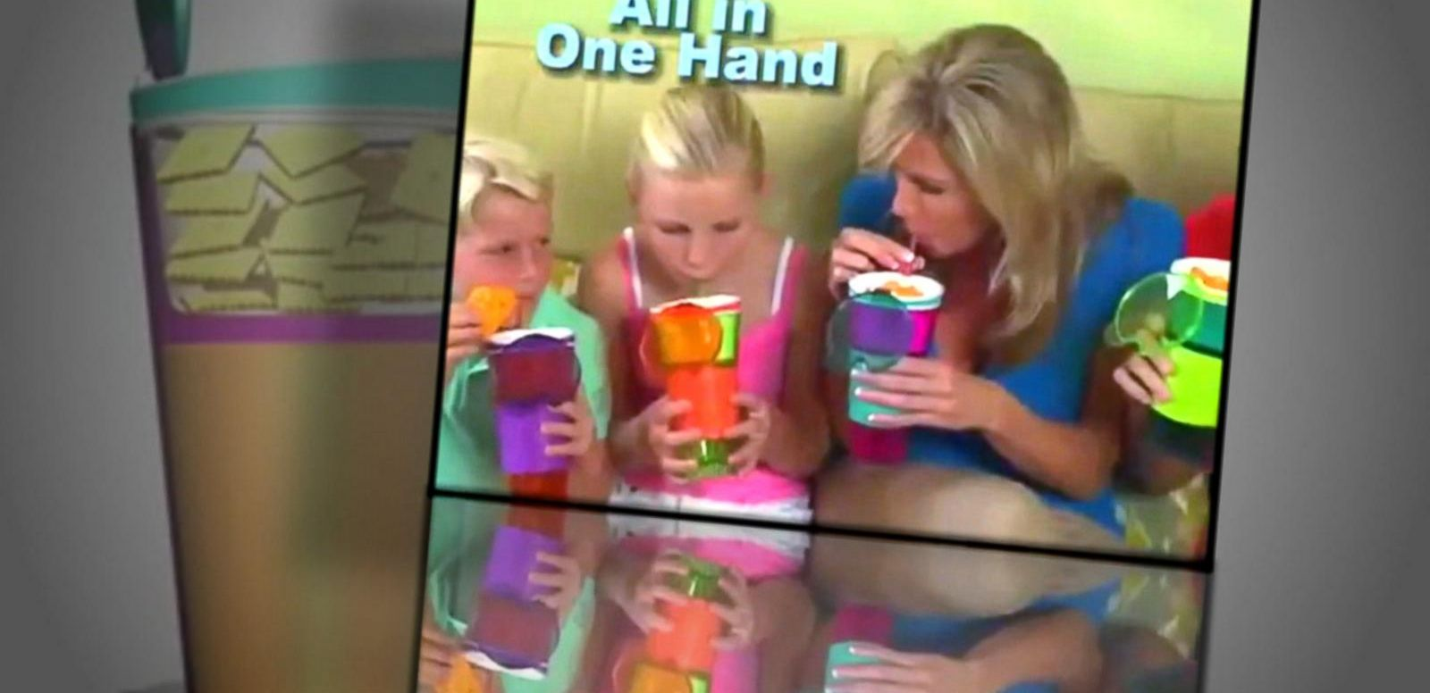 VIDEO: Mom's Check Out All-In-One Snack Cup, Indoor Soccer Toy