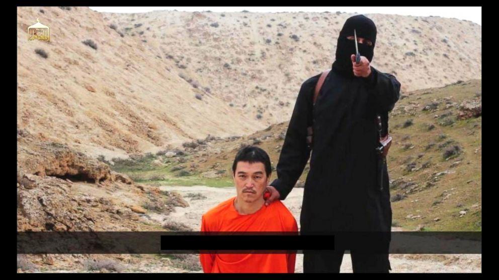 Syria 2015 isis released video of kenji goto japanese hostage killed