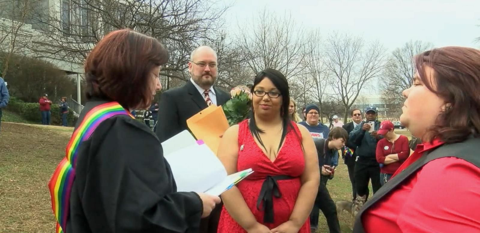 VIDEO: Alabama Officials Defy Federal Ruling Legalizing Same-Sex Marriage