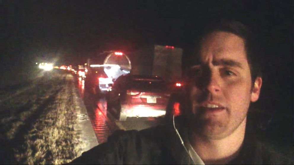 VIDEO: Drivers Stranded Over 12 Hours on Alabama Interstate