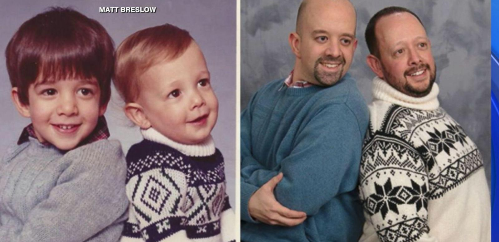 VIDEO: Brothers Recreate Childhood Portraits at Target (Nailed It!)