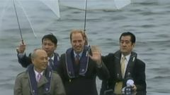 VIDEO: Prince William Retraces Mothers Steps in Asia