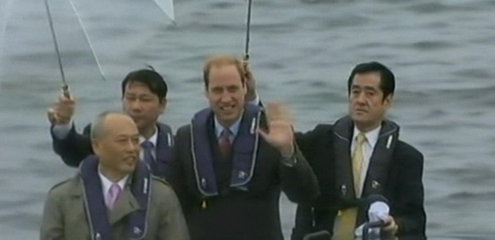 VIDEO: Prince William Retraces Mother's Steps in Asia