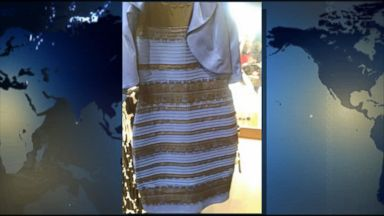 Dress blue and black or white and gold gma