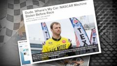 VIDEO: GMA 02/28/15: NASCAR Sprint Car Recovered After Brazen Theft