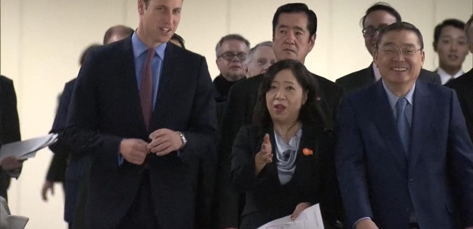 VIDEO: Prince William Visits Japanese Tsunami Zone