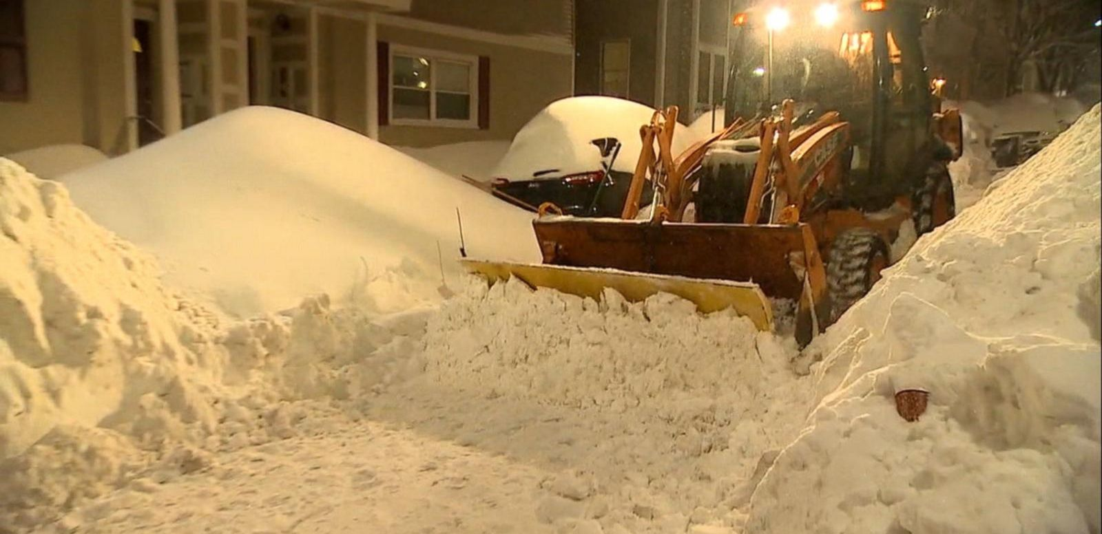 VIDEO: Boston Takes On More Snow, Nears Winter Record