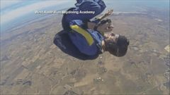 VIDEO: Skydiver Suffering Seizure Mid-Air Rescued by Instructor