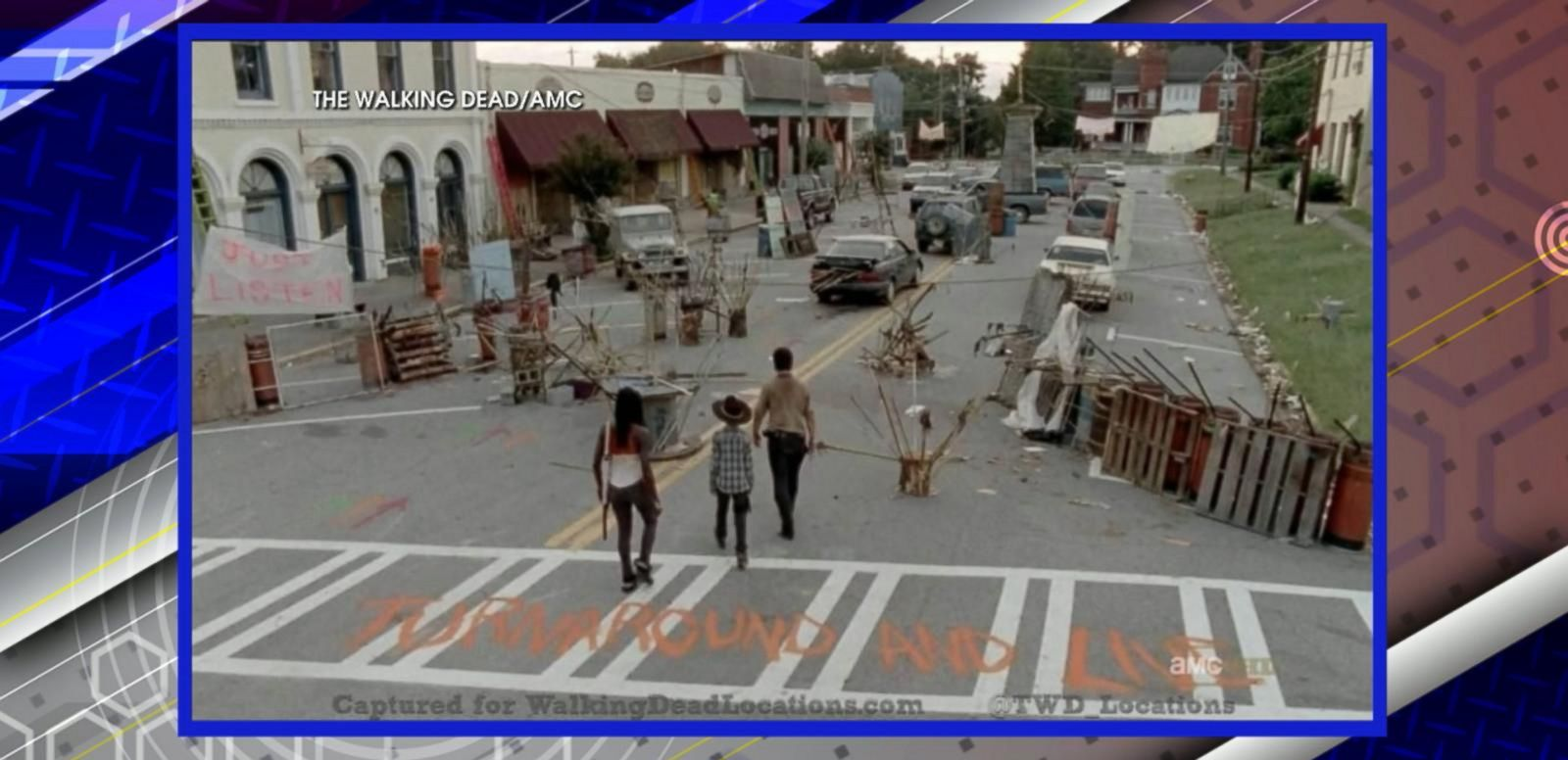 VIDEO: 'Walking Dead' Fans Have Chance to Buy Homes Used in the Show