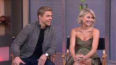 VIDEO: Julianne and Derek Hough Join Forces for a New Tour