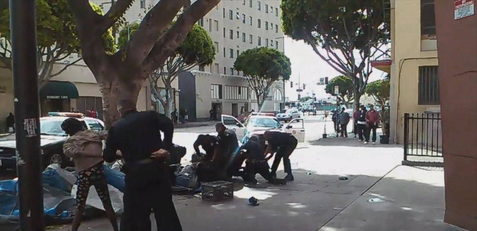 VIDEO: LAPD Addresses Officer-Involved Shooting That Was Videotaped