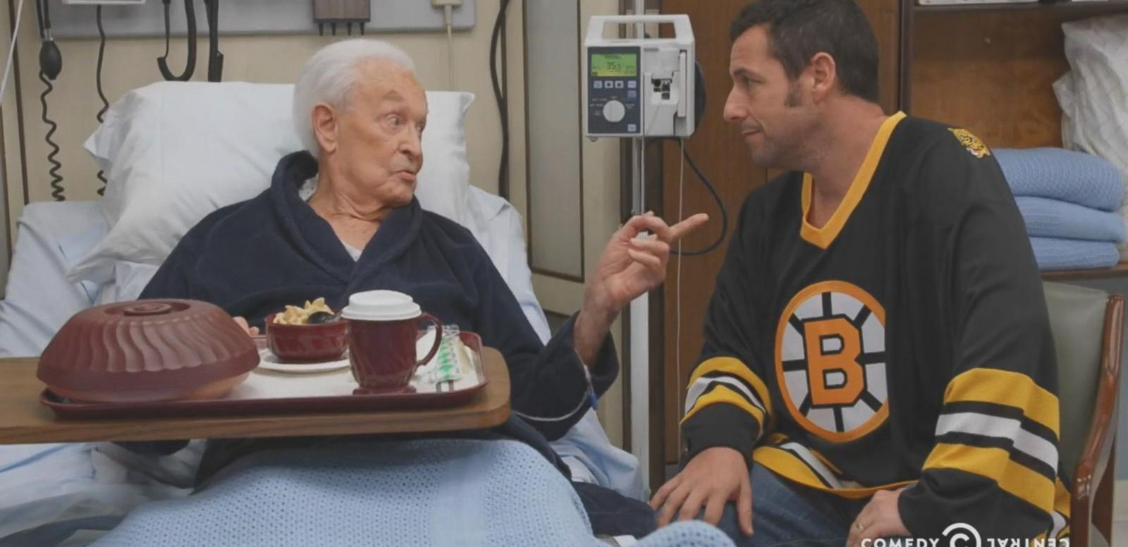 VIDEO: Adam Sandler and Bob Barker Recreated Their 'Happy Gilmore' Fight