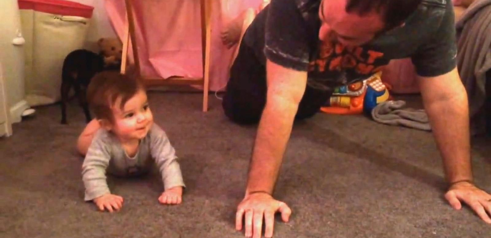 VIDEO: Dad Gives Baby a Surf Lesson
