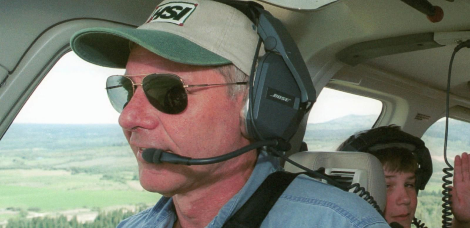 """VIDEO: The actor told Barbara Walters that he """"loves seeing the world from an airplane."""""""
