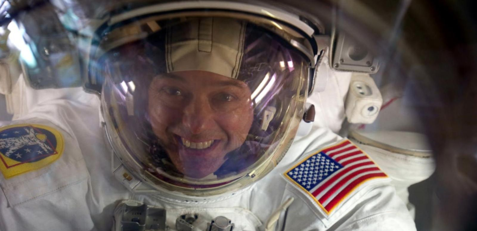 """VIDEO: Astronaut Ron Garan calls for global cooperation in new book """"The Orbital Perspective."""""""