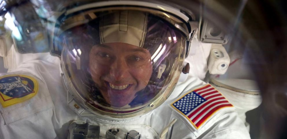 "VIDEO: Astronaut Ron Garan calls for global cooperation in new book ""The Orbital Perspective."""