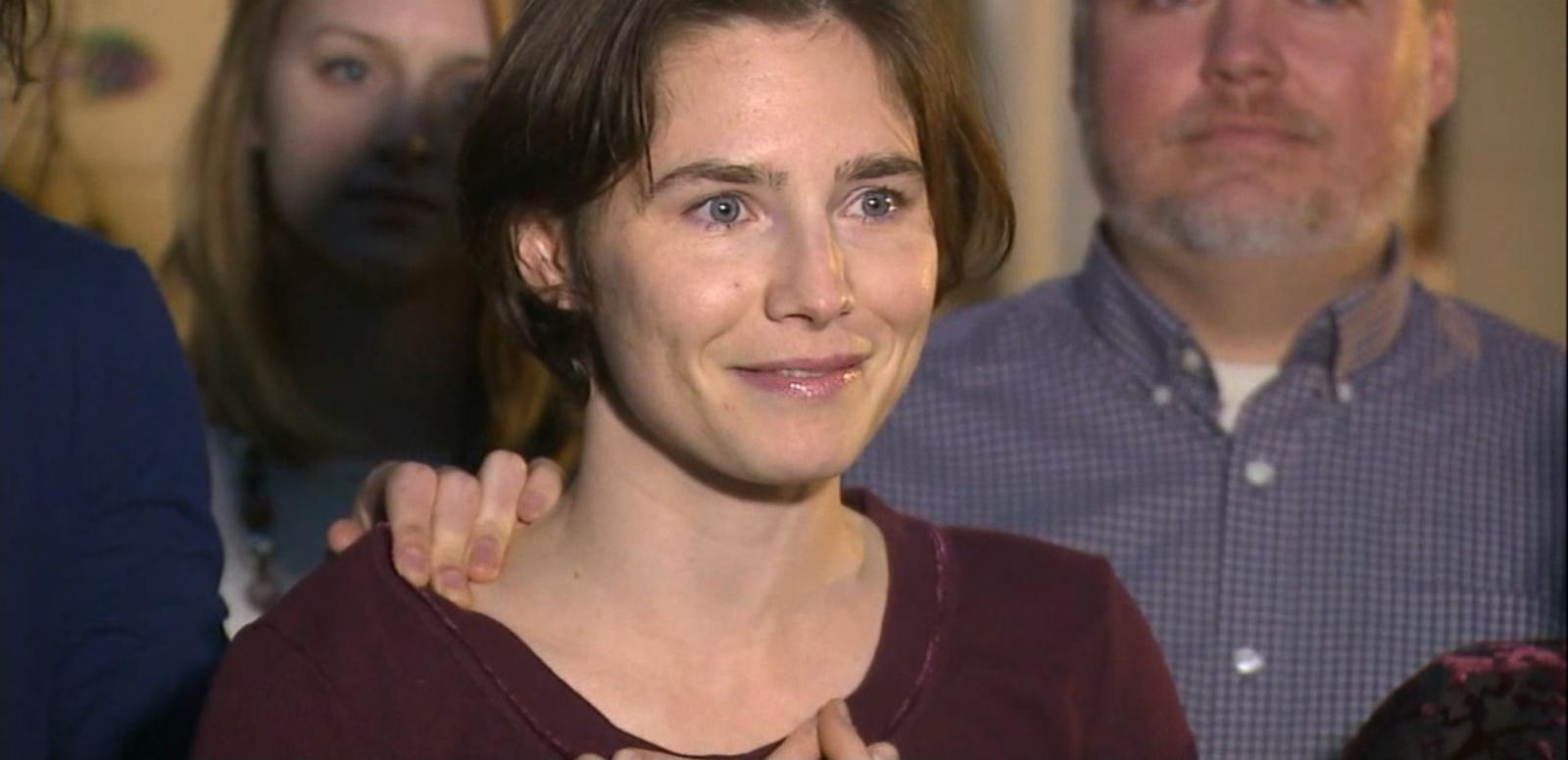 VIDEO: Amanda Knox Weighs Next Move After Italian Court Decision