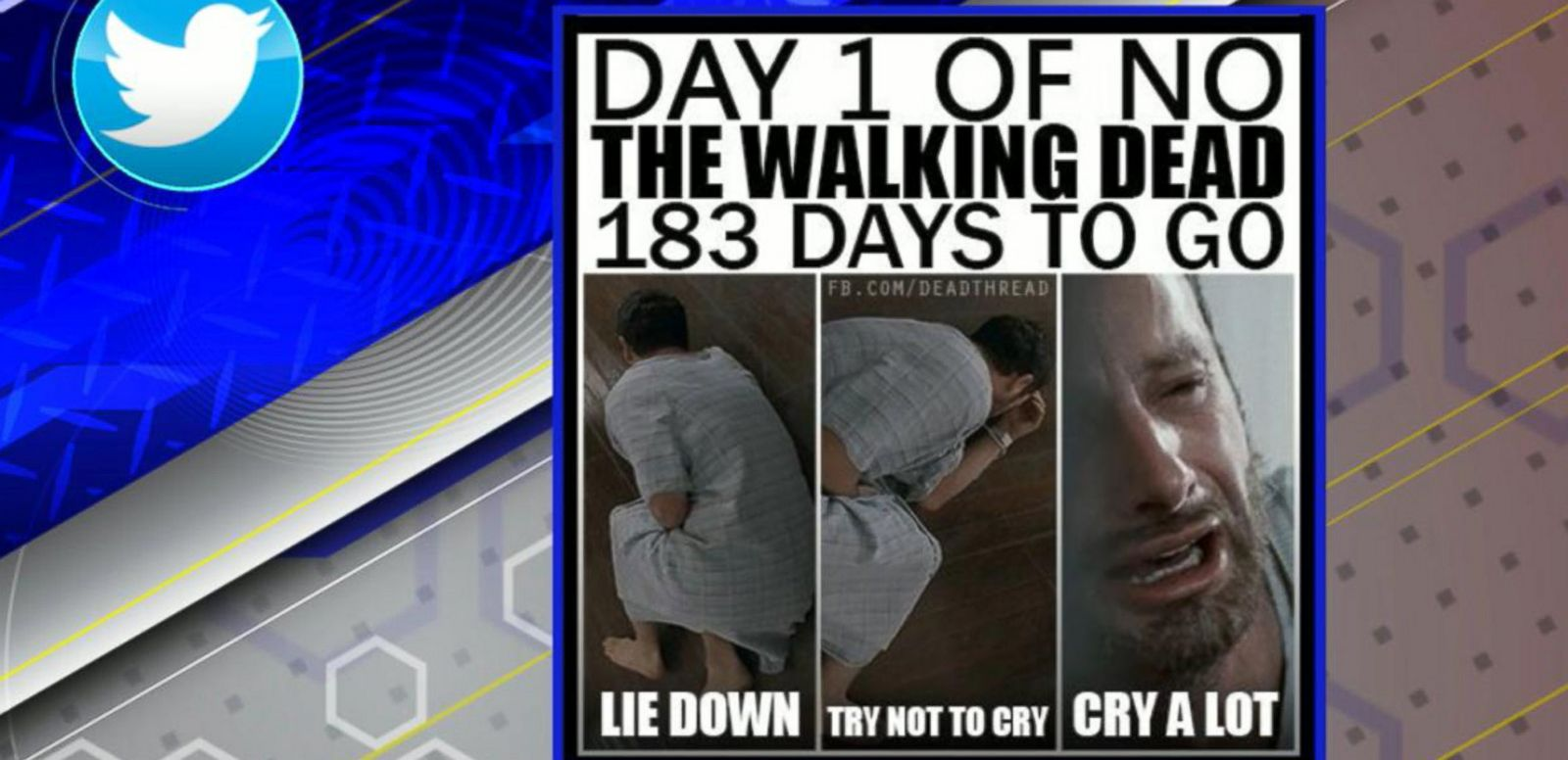 VIDEO: 'The Walking Dead' Fans Take to Social Media After Season Ender
