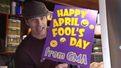 VIDEO: GMA 04/01/15: Best April Fools Day Pranks Go Viral