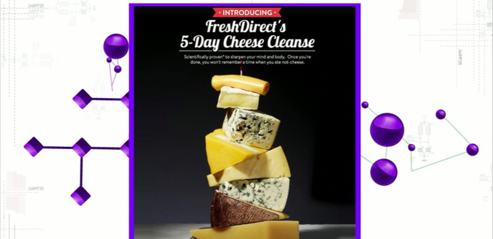 VIDEO: Go On a Cheese Cleanse for April Fool's Day