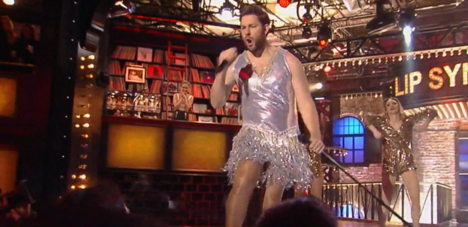 VIDEO: John Krasinski Channels Tina Turner During Lip Sync Performance